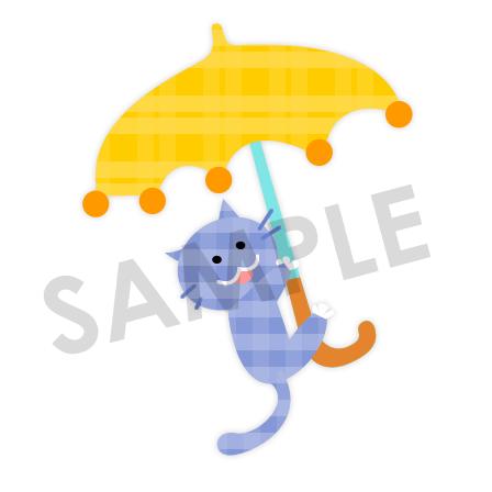 かわいいネコのイラスト保育園幼稚園に使える無料イラスト素材